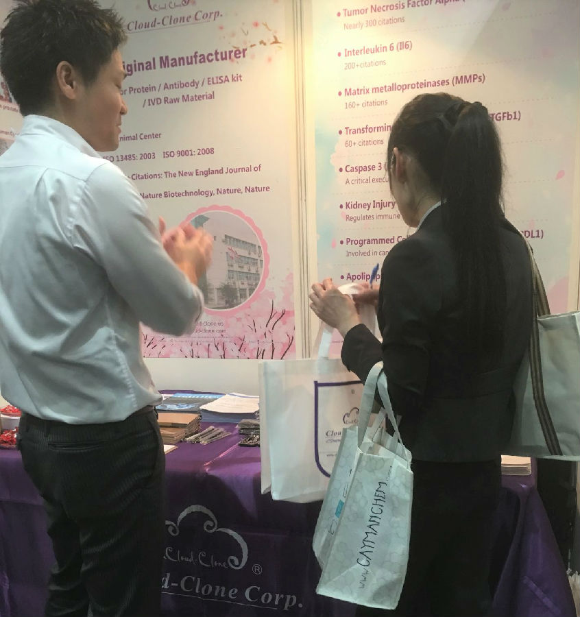 Cloud-Clone Attended 2018 JCA in Japan